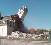 Old Courthouse Being Razed