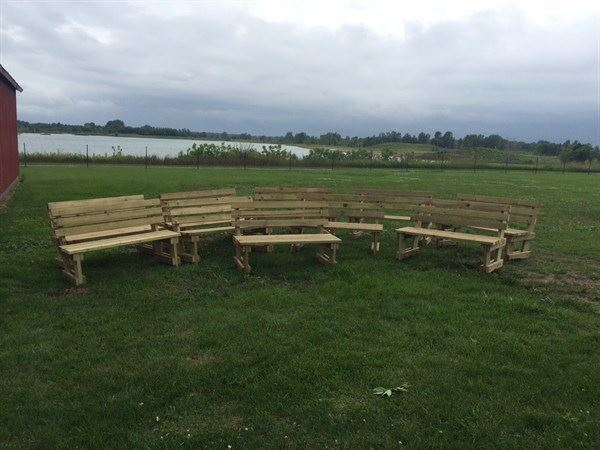 Finished Benches