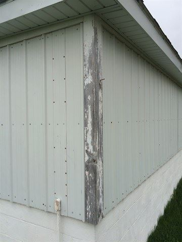 Maintenance Shed (Before)